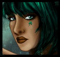 Turquoise Clover by Chihyro