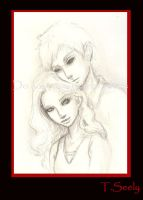 Edward and Bella by TLSeely