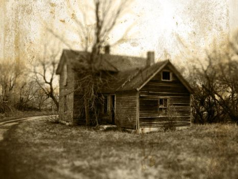 The Old House by bluefishrun