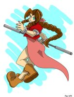 Aeris Gainsborough by MoeAlmighty