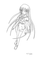 Shana fanart 1 by Red-Romanov