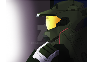Master Chief by CandyCone