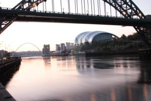 Quayside Sunrise long exposure by loudsilence21
