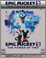 Epic Mickey 2 Icon v3 by Ni8crawler