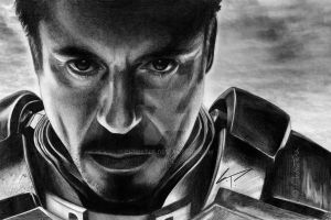 IronMan - Tony Stark by Chriistiie