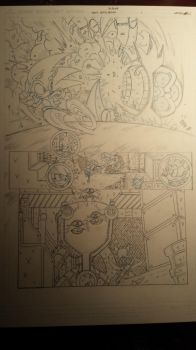 sonic comic origins ant pencils pg1 by trunks24