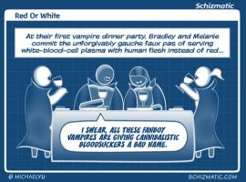 Red Or White by schizmatic