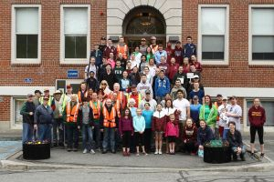 The Millis spring cleaning crew by natureguy