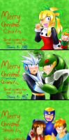Merry Christmas from Sonic! :D by Sonicbandicoot