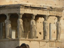 Columns of Temple of Athena Nike by RiverKpocc