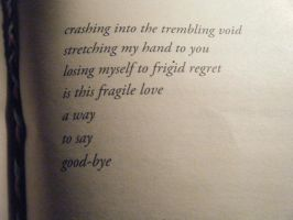 ...A Way To Say Goodbye? by HouseOfNightGirl