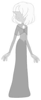 White Pearl - Full Body by OnionFairy99