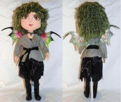 Soft Sculpture Doll - Melaine by mihijime