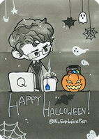 2014 Halloween : Q from 007 Skyfall by anon-141
