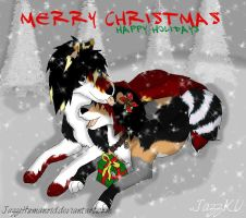 Merry Christmas Love Bill and Jazz by MonsoonWolf
