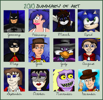 2010 Summary Of Art by sweetkat22