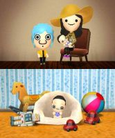Alph and Marcy's Baby by rabbidlover01
