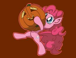 Pinkie Pumpkin by LateCustomer