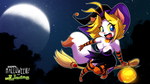 Sarah Halloween Wallpaper 2012 by ChaloDillo
