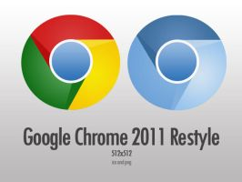 Google Chrome 2011 Restyle by d-bliss