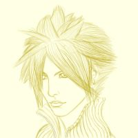 Cloud Strife by SekseeDragoness