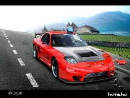 Mazda Rx 7 by LEEL00