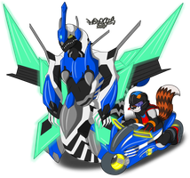 Riding Duel ACCELERATION by Marquis2007