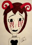 Bloody Tears by thegothickitty33
