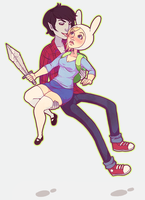 Fionna + Marshall Lee = FioLee by RebeccaMorton