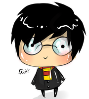 Harry Potter Cheeb. by MagicalSockOfMagic