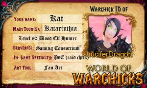 Warchick ID by LuciferDragon