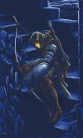 Archer in the night by vear