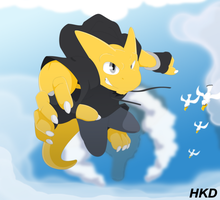 Above the Clouds by HiKazeDragon