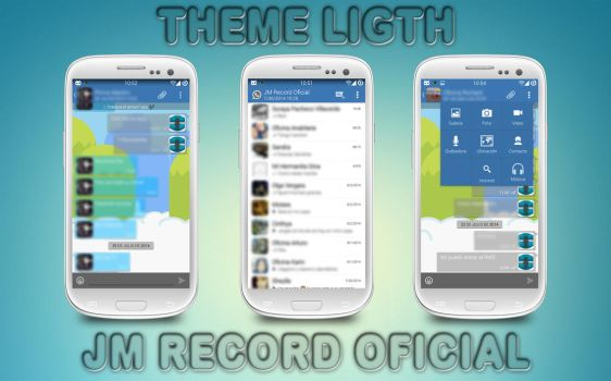 Theme Light for Whatsapp+ - BY.JMRecordOficial by JMRecordOficial
