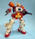 XXXG-01H GUNDAM HEAVYARMS by graybandit