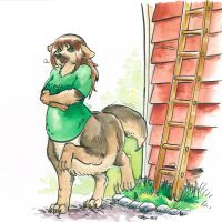 Commission- Screw ladders! by Cervelet