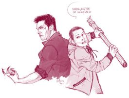 Teen Wolf doodle by Pulvis