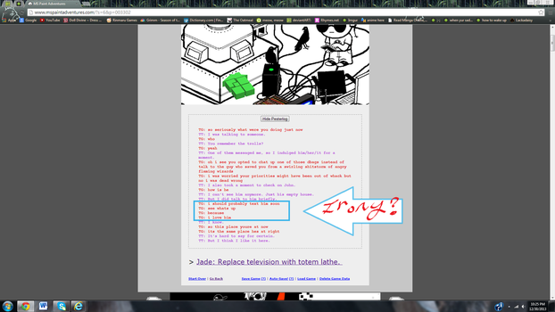 just started re-reading Homestuck... by 9-11-00