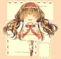 (SOLD!) Frilly Lolita Girl~ by xadako