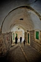 The old city by Yousry-Aref