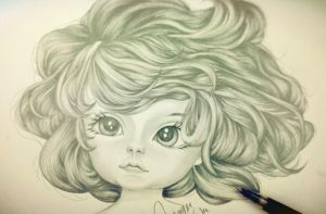 Short Curly Hair by MQWee
