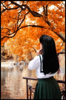 Autum day by WhiteRaven00
