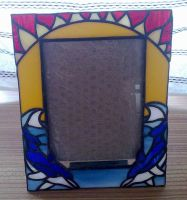 Dolphin Picture Frame by Veggie-San