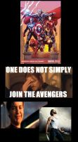 One Does Not Simply Join The Avengers by pwarner184