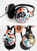 Star Wars Headphones by Bobsmade