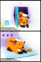 Littlest Pet Shop Custom Fox by GrandmaThunderpants