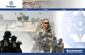 Fldjg Bundeswehr Wallpaper by SaintScriptor