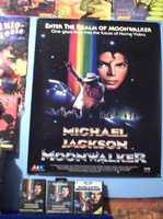 My New Michael Jackson Poster (MOONWALKER) by conkeronine