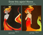 Before and After Demons by Friendsofold