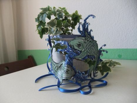 Fish Mask for my Girlfriend by GargamelsCat